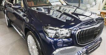 Дилер Mercedes сообщил, сколько денег получает правительство РФзаMaybach GLS 600
