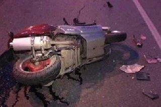 В Воронеже погиб скутерист, врезавшийся в фонарный столб