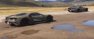 Ford GT 2017 замечены на тестах под палящим солнцем Колорадо