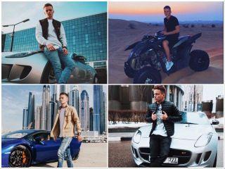 Всвоем блоге парень постоянно показывает атрибуты «богатой жизни». Источник изображения: Instagram@arseniy_shulgin