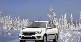 LADA для якутских морозов: Granta слобовым изПЭТ-плёнки показал водитель