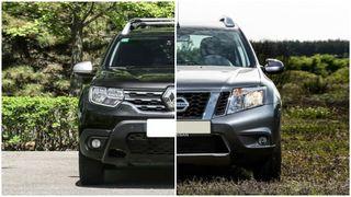 Фото: Renault Duster— слева, Nissan Terrano— справа, коллаж портала «Покатим!»