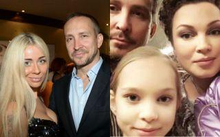 Мария Силуянова, Данко и єкс-супруга певца с дочерью. Фото: paparazzi.ru, irma-stream.ru