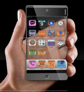 Apple запатентовали «прозрачный» экран для смартфонов
