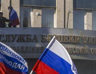 Луганским МВД опровергается слух о заложниках в здании СБУ