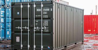 Морские контейнеры: многооборотная тара для перевозки грузов