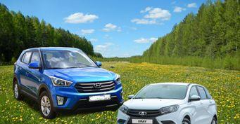 «Карета ХРюше неровня»: О«дубовых» подвеске исалоне Hyundai Creta после LADA XRay сообщил владелец обоих авто