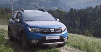 В сети появился рекламный ролик Dacia Sandero Stepway