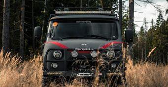 Конструктор «Сделай сам»: Максимально внедорожную УАЗ «Буханку» представили вСети