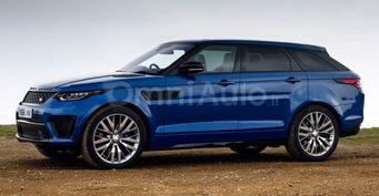 В сети был опубликован рендер кросс-купе Range Rover Sport Coupe