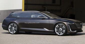 Независимый дизайнер превратил Cadillac Escala в универсал