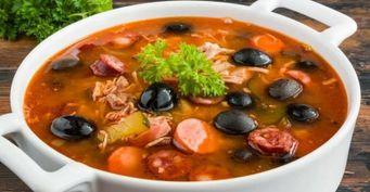 Царский обед: Сборная мясная солянка