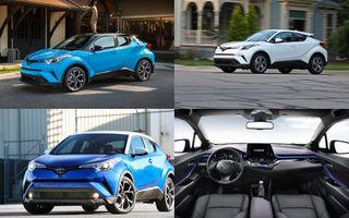 Экстерьер иинтерьер Toyota C-HR 2018, источник: Toyota