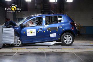 Четыре новых автомобиля подверглись испытаниям на безопасность Euro NCAP