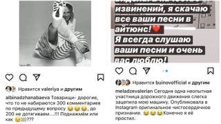 Пока Джанабаева не может собрать 200 комментариев на странице, под песни Меладзе танцуют миллионы. Коллаж автора «Покатим»