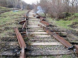 Под Донецком из-за боев на Украине повреждена железная дорога