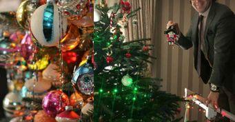 Антиквариат нынче вмоде: Знаменитости показали свои уникальные новогодние игрушки