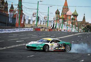 В центре Москвы ограничат движение из-за заездов болидов Формулы-1