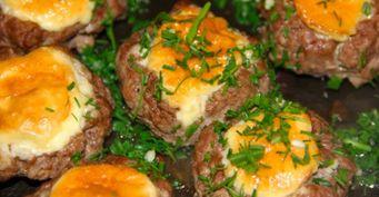Удивила гостей блюдом изфарша: Приготовила «мясные лодочки» ссыром ияблоком