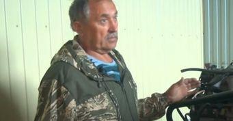Житель Алтайского края превратил старый Volkswagen в самолет