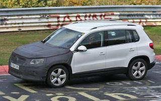 Обновленный «Volkswagen Tiguan» был замечен на тест-драйве