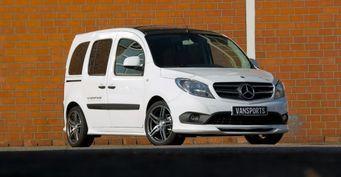 Представлен модернизированный фургон Mercedes-Benz Citan by Hartmann
