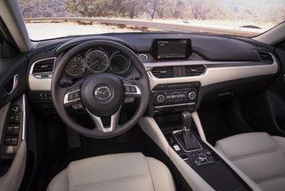 Фото: салон Mazda 6, источник: Mazda
