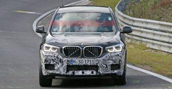Новый BMW X3 M заснят на тестах в Европе