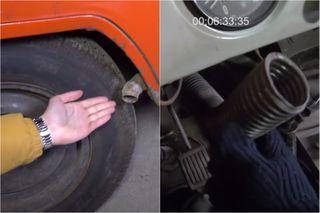 Система отопления УАЗ-3801 вредна для экологии ипассажиров. Кадры: YouTube-канал «Привет Тачка»