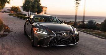 Флагманский седан Lexus LS дебютировал в Детройте