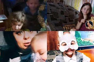 Дети Ирины Костылевой, Зарина, Сабрина иМахсуд. Коллаж: www.tiktok.com