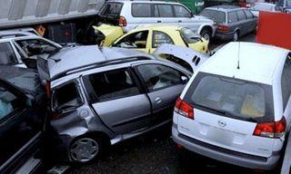 В Белгороде произошла авария с участием сразу десяти авто