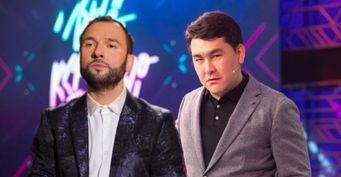 Азамат доминирует: Звезда«Однажды вРоссии» Мусагалиев «подмял под себя» мягкотелого коллегу Александра Пташенчука