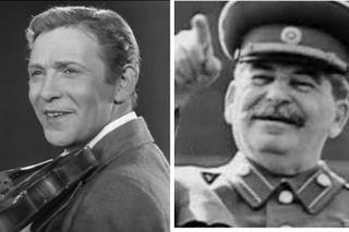 Леонид Утёсов, Иосиф Сталин. Коллаж: Pokatim.ru