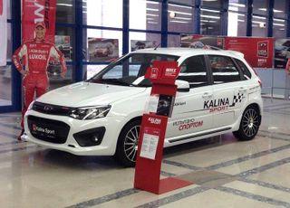 «Lada Kalina Sport» появится в продаже в течение месяца