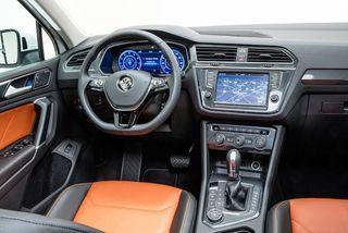 Фото: Салон VW Tiguan 2016, источник: autorevue.at