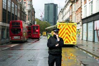 В отеле в центре Лондона прогремел взрыв