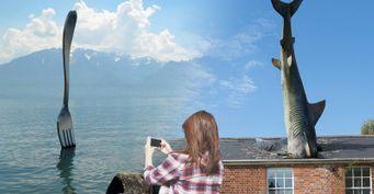 Вилка-гигант иакула вкрыше: Экзотические памятники со всего мира, которые «взорвут» Instagram