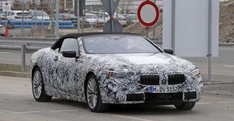Кабриолет BMW 6-Series показался на испытаниях