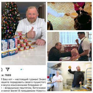 Ивлев выбрасывает еду килограммами, пока ему незаплатят. Источник: mycollage.ru