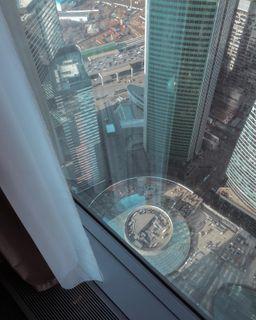 С68 этажа машины выглядят, как игрушечные. @saywowhotel