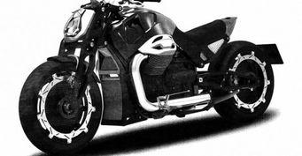 В сети появились фото заводской версии мотоцикла «Волк»