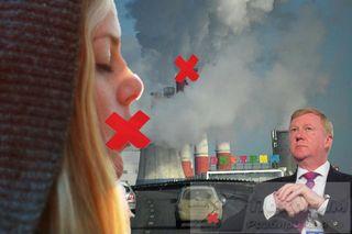 Фото: Чубайс предлагает брать плату за чистый воздух, pokatim.ru