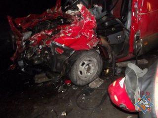 В ДТП под Псковом 3 человека погибли, 8 травмированы