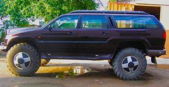 Самоделка, закоторую нестыдно: Внедорожник «Бизон» набазе ГАЗ-66 показали вСети