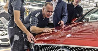Daimler поставил на конвейер Mercedes-Benz E-Class Coupe нового поколения