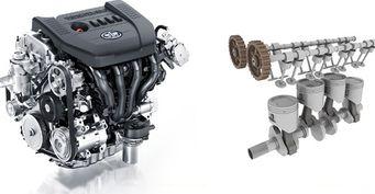 Двигатель для автомобиля FAW