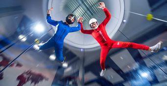 Ваша вторая половина отказалась прыгать с парашютом? Выход есть: аэротруба как развлечение для настоящих экстремалов