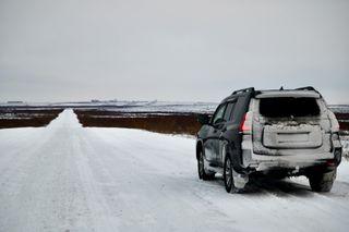 Land Cruiser Prado сподмёрзшим «задом». Источник: Drive2
