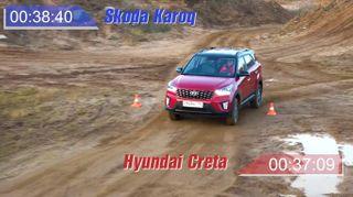 Фото: Hyundai Creta назаезде, источник: Скриншот сYouTube-канала AUTOMPS